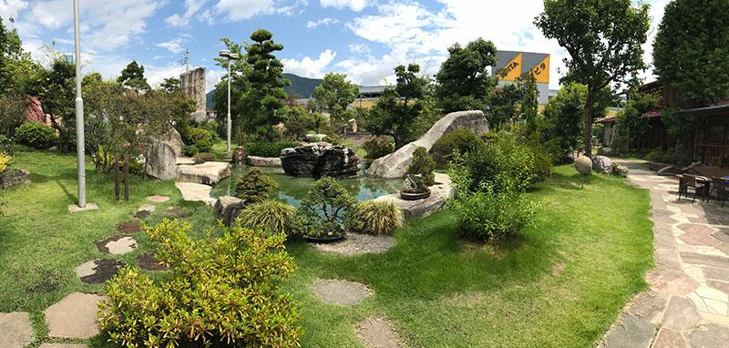 瑰泉のパノラマ写真
