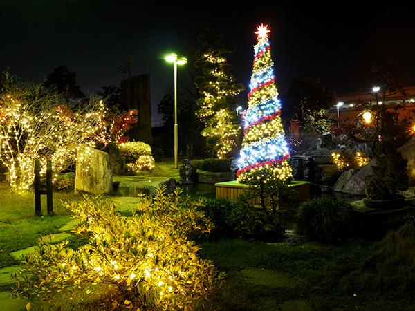 瑰泉クリスマスツリー